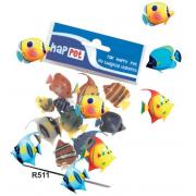 Plastikinė žuvytė 3 cm, 1 vnt.