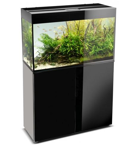 Akvariumas Glossy 1200x400x630 juoda