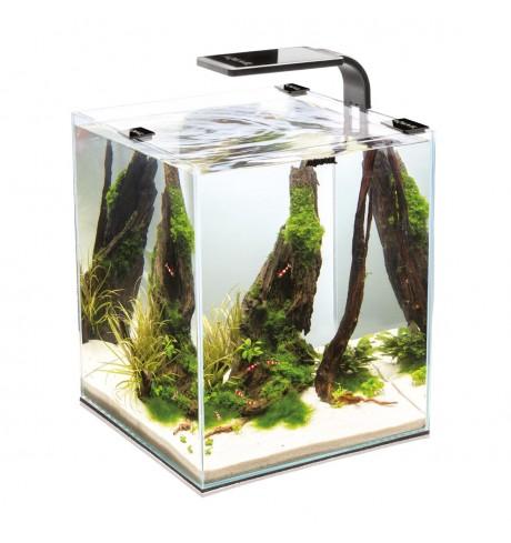 Akvariumas krevetėms AQUAEL SHRIMP SET SMART 2, 10 l. (juodas)