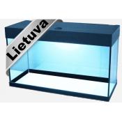 Stalmos akvariumai be įrangos