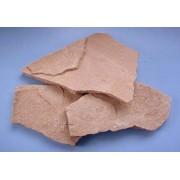 Natūralūs sendinti rausvi akmenys, 1 kg