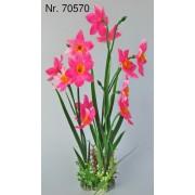 Dirbtinis augalas Blüten-Pflanzen, 38-40 cm