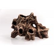 Dekoracija - medžio imitacija, 13x19x11cm