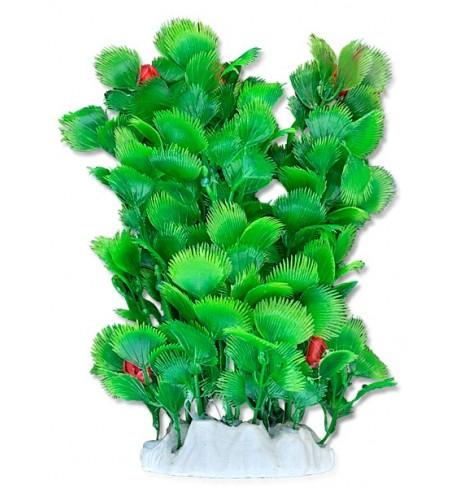 Dirbtinis augalas (krūmas su raudonais žiedais), 20cm