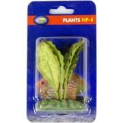 Dirbtinis augalas (dėmėtais plačiais lapais), 4 cm