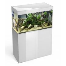 Akvariumas Glossy 1000x400x630 balta