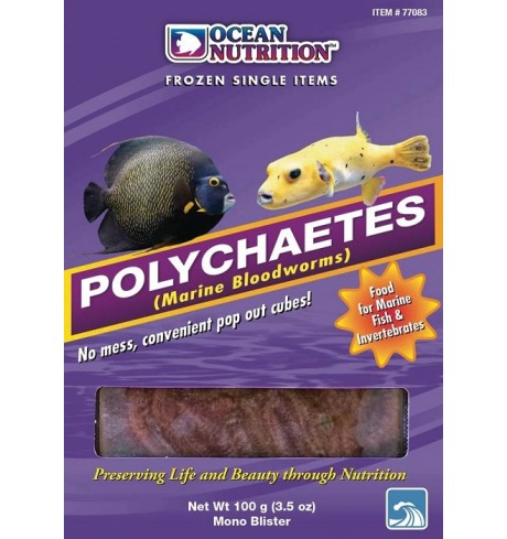 Polychaetes monotray, 100 g