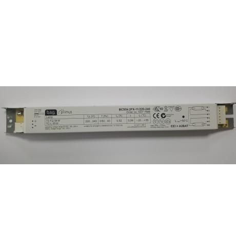 T5 lempų paleidėjas/balastas, 2x54W