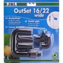 JBL OutSet wide 16/22 CP e1501 - išorinio filtro detalės