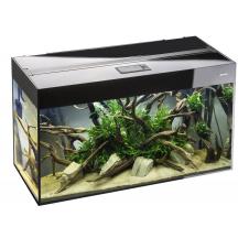 Akvariumas Aquael Glossy  1200x400x630, 260 l. juodas