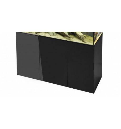 Akvariumo spintelė su durelėmis, 1200x400x720h (juoda)