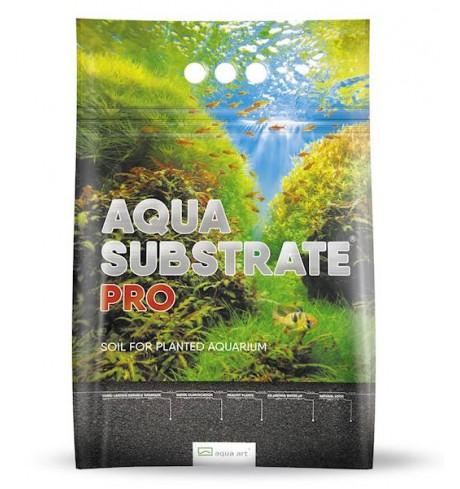 Aqua art substratas PRO 6, 6 l (juodas)